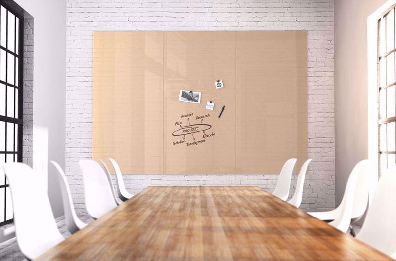 Picture of קיר עבודה זכוכית מחיק מגנטי