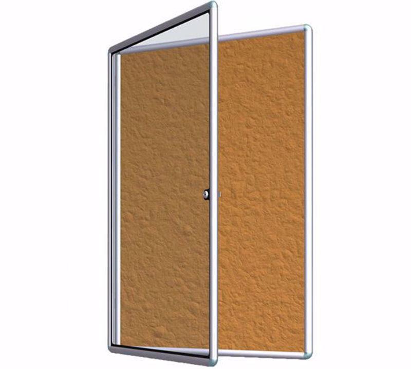 אמצעי הסברה עם דלת לתליה